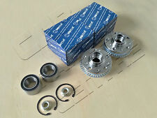 FOR GOLF 1.4 1.6 1.8 2.0 2.3 2.8 FRONT LEFT RIGHT WHEEL HUBS FLANGE BEARINGS KIT