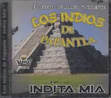 Los Indios De Papantla Indita Mia CD New Nuevo sealed