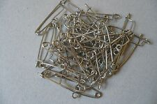 Brooch/Safety Pins for DIY Jewellery. (40)  Made in England. Vintage.
