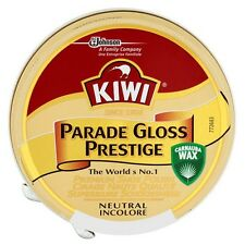 Kiwi Parade Gloss Shoe Polish High Gloss Neutral Boot Army Cadet Neutral