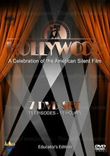Hollywood: A Celebration of the American Silent Film (7 DVDs/Remastered/EXTRAS)