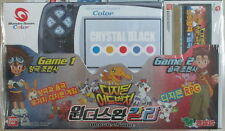 Bandai Color WonderSwan Game Console Crystal Black with Digimon RPG NEW