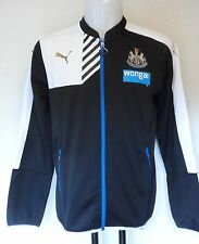 NEWCASTLE UNITED 2015/16 STADIUM JACKET BY PUMA SIZE LARGE BRAND NEW WITH TAGS