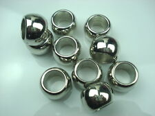 10 PCS/Lot silver Charms CCB Acrylic slide Scarf beads