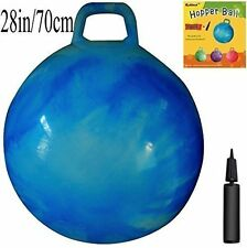 Space Hopper Ball: 28in/70cm Diameter for Age 13+, Pump Included (Hop Ball, K...