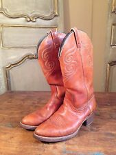 Vintage Mens Campus Western Cowboy Boots Billy Martins Mens Size 8 E