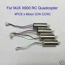4PCS Original CW CCW Main Motor For MJX X600 RC Quadcopter Drone New Spare Parts