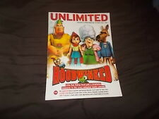 unlimited cineworld cinemas magazine October 2006 Hood Winked