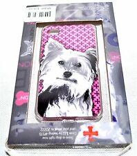 """Fuzzy Nation NYC 'Yorkie"""" Hardshell Case For iPhone 4/4S, NEW (See Cond.)"""