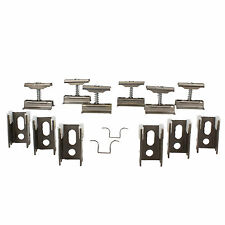 Revive Raw Metal Column Radiator Wall Mounting Brackets, Set of 6