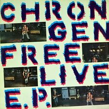 "7"" CHRON GEN Free Live EP Living Next Door To Alice/Puppets Of War PUNK OI! 1981"