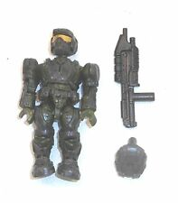 Halo Mega Bloks Single Figures UNSC MARINE (Green) & Assault Rifle A33