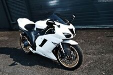 Gloss White Injection Fairing for 2007-2008 Kawasaki Ninja ZX-6R ZX6R 636