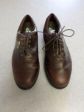 "Footjoy ""Sierra Treks Softjoys"" brown leather, oxford golf shoes.  Men's 9.5 M"