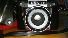 Fotokamera (DDR) EXA 1b und viel Zubehör