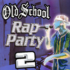 OLD SCHOOL RAP PARTY 2 - 12 TRACK MUSIC CD - BRAND NEW - E1024