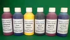 NON OEM Canon Compatible Cartridge & CISS Refill Pigment Ink 6 x 100ml