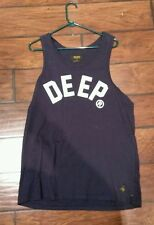 10 deep tank top size large (huf, stussy, staple, 10 deep, obey, diamond supply)