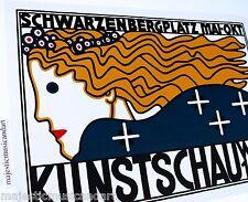 BERTHOLD LOEFFLER  KUNSTSCHAU WIEN 1908 NYC 2003 GALLERY POSTER MINT