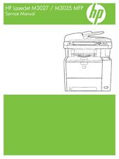 HP LaserJet M3027/ M3035 MFP Series Service Manual (Contains Parts + Diagrams)