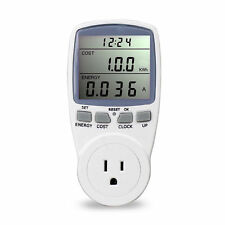 Baldr US Plug Energy Meter Watt Volt Voltage Electricity Monitor Analyzer Power