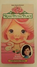 Rose-Petal Place VHS Tape 1988 - Songs by Marie Osmond - NOT ON DVD