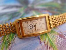 Beautiful, Elegant, Fancy Ladies Gold Plate Solvil Titus Roma 1887 21mm Quartz