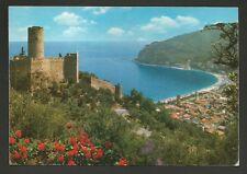 AD7968 Savona - Provincia - Noli - Castello e scorcio panoramico