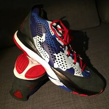 MINT Nike Chris Paul  616805-012 Men's Air Jordan CP3.VII Shoes Black/Red-Blue