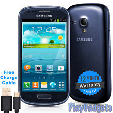 Samsung Galaxy S3 Mini GT-I8190N 8GB Android Mobile Phone - Blue