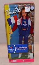 Barbie Olympic Fan Sydney 2000 Doll Olympic Games  France Flag Mattel 25976