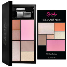 Sleek MakeUp - Eye & Cheek Shadow Powder Palette Brush Set - All Day Soiree
