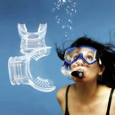 Scuba Diving Snorkel Breathing Tube Sillicone Color Random Close Mouth