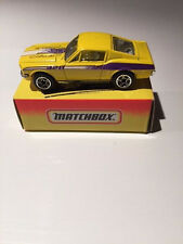 MATCHBOX '68 Mustang Cobra Jet #69 of 75 (NEW IN BOX)