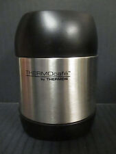 THERMOS - THERMOcafé STAINLESS STEEL VACUUM INSULATED FOOD JAR - STEEL - RC 916