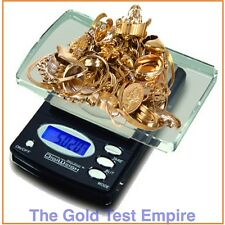 0.1gram Digital Jewelry Lab Scale for Gold Silver Acid Solution Test Testing Kit