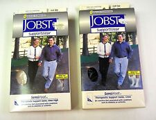 LOT OF 2 - Jobst Sensi Foot  (1)KNEE-HIGH & (1) CREW - EW 1312