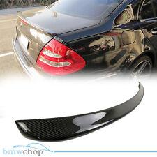 Carbon Fiber Mercedes Benz W211 E Class E55 E63 Rear Boot Trunk Spoiler ◎