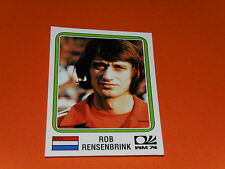 90 RENSENBRINK HOLLAND MÜNCHEN 74 FOOTBALL PANINI WORLD CUP STORY 1990 SONRIC'S