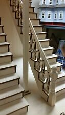 Bedford 1:12 Victorian Straight Staircase with Landing Rails