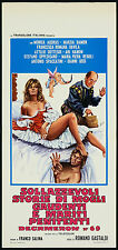 DECAMERON n.69 LOCANDINA FILM SEXY JOE D'AMATO DECAMEROTICO 1972 MOVIE PLAYBILL