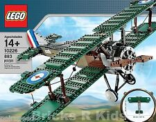 LEGO Sopwith Camel Biplane (10226) Airplane, New Sealed Set MISB - Retired