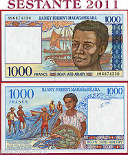 MADAGASCAR - 1.000 1000 FRANCS = 200 ARIARY 1994 - Sign 5  -  P 76b -  FDS / UNC