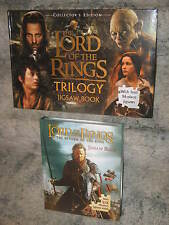 Lord of the Rings Jigsaw Books NEW Trilogy + Return of the King puzzles
