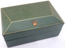 Vintage ROLEX Watch Box 1950's Submariner 6200 6236 5510 Big Crown James Bond