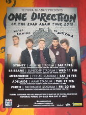ONE DIRECTION - 2015 ON THE ROAD AGAIN  AUSTRALIAN  TOUR  -  PROMO TOUR POSTER