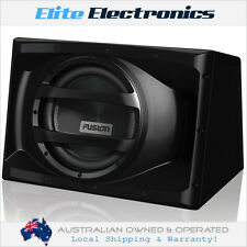 "FUSION EN-AW1122 12"" 1000W ACTIVE POWERED BUILT-IN AMP SUBWOOFER CAR SUB BOX"