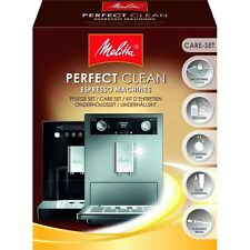 Melitta PERFECT CLEAN Espr.Machines Pflege Set Reinigungset Kaffeevollautomaten