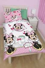DISNEY MINNIE MOUSE SINGLE bed QUILT DOONA COVER SET NEW