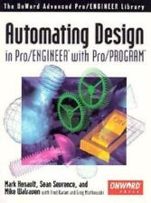 BRAND NEW SHRINKWRAPPED with CD:Automating Design in Pro/ENGINEER w/ Pro/PROGRAM